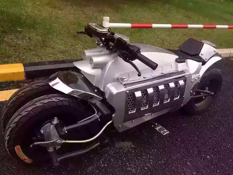 Yk The Dodge Tomahawk Motorcycle 150cc Mini Four Wheel Motorcycle