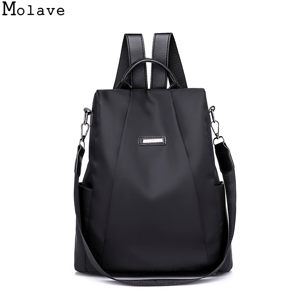 MOLAVE Anti-theft Oxford Backpack Female Designer School Bags For Teenager Girl Waterproof Travel Backpack Women Bagpack 20SEP19 Рюкзак