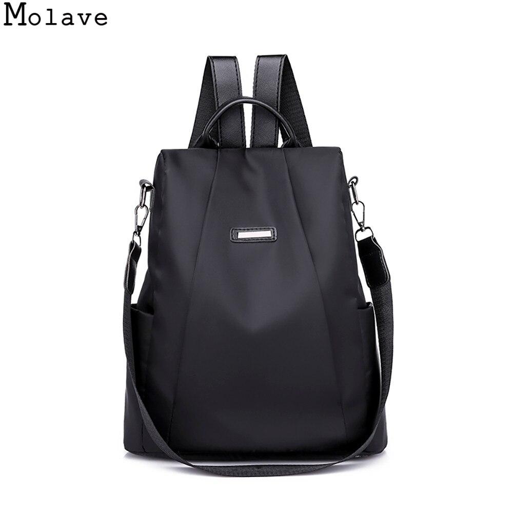 MOLAVE antirrobo Oxford mochila diseñador escuela bolsas para adolescente mochila de viaje impermeable mochila mujer 20SEP19
