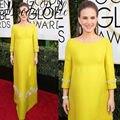 Las mujeres de Maternidad Red Carpet Celebrity Dresses Natalie Portman 2017 ª Globo de Oro Largo Moldeado Vestidos De Noche Embarazadas