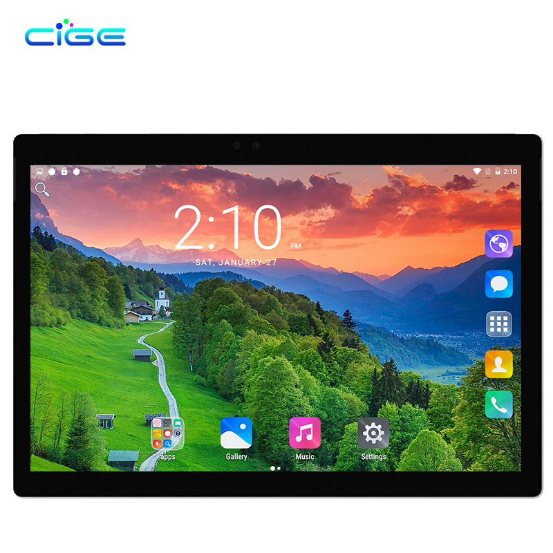 CIGE 10.1 inch New Tablet pc Smart Phone Call Octa core 5.0MP 4GB 32 64GB Bluetooth GPS Android 7.0 Dual SIM Card WiFi Bluetooth