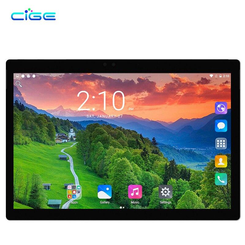 CIGE 10,1 zoll Neue Tablet pc Smart Phone Call octa-core 5.0MP 4 GB 32 64 GB Bluetooth GPS Android 7.0 Dual-sim-karte WiFi Bluetooth