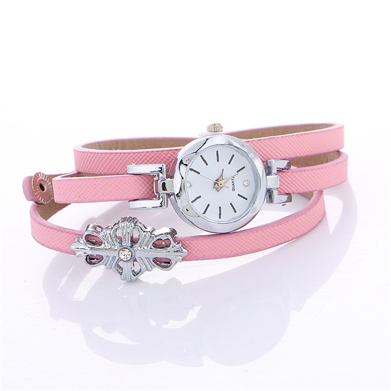 Jewelry Watch Women Fashion Casual Dress Watches White Pink Sweet Candy Color Bracelet Watches Ladies Female Clock Hour chic xinhua 701 round pink dial star shaped case bracelet watch with dots hour marks for women white