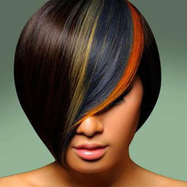 Warna Rambut Baru Rambut Sementara Dye Kapur Kompak Permen Warna