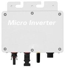 R & X Wasserdichte 300W Solar Panel auf Grid Micro Inverter 120 V/240 V Max 320W MPPT Grid Tie Inverter
