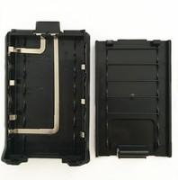 uv 5r 6xAAA סוללה מקרה עבור מכשיר הקשר Baofeng UV-5R UV-5RE רדיו פלוס (2)