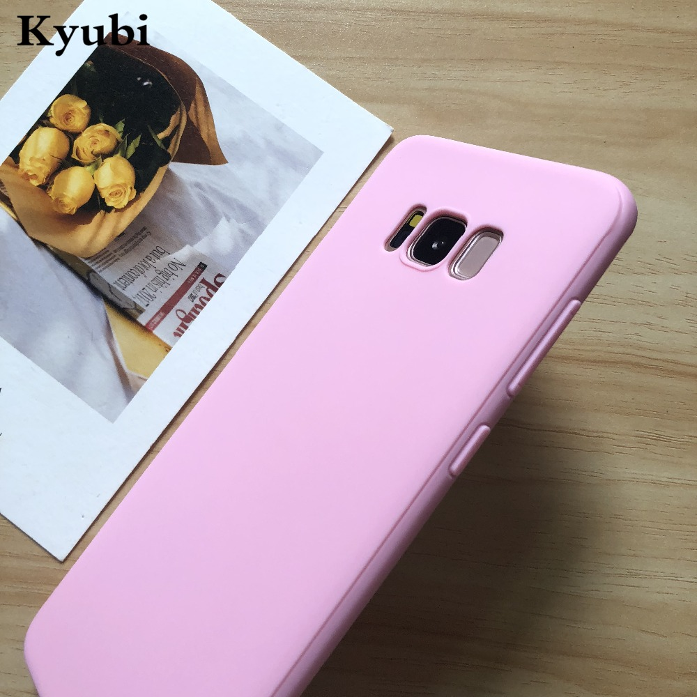 Ultra Thin Silicone case for samsung S8 S9 A6 A8 plus J2 pro 2018 J5 Prime J3 J7 A3 A7 A5 2016 2017 note 9 8 s6 s7 edge Coque