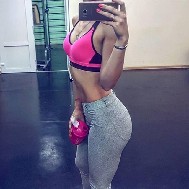 Fashion Low Waist Leggings Women Sexy Hip Push Up