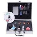 Mulheres Maquiagem Profissional pestanas falsas Extensão Natural Cílios Falsos Eye Lash Eyelash Extension Kit Conjunto Completo com Caso