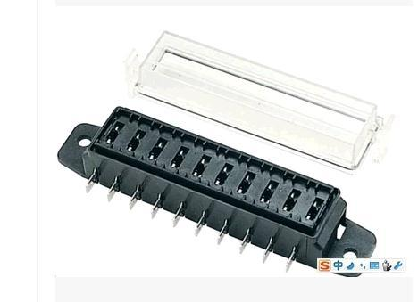 online buy whole screw fuse box from screw fuse box modified car fuse box transparent cover screw holes shipping 10 way multi stable security