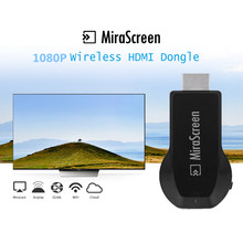 Mirascreen OTA tv Stick Android Smart tv Dongle Full HD 1080P беспроводной видео приемник MX DLNA Airplay WiFi дисплей Miracast