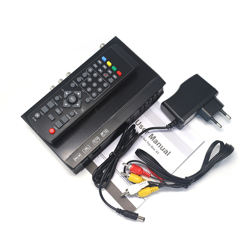 Image 5 - Vmade 1080P Full HD DVB S2 M5  Satellite TV Receiver  Support Line Satellite Receiver with USB WIFI  Set top box Media Player-in Satellite TV Receiver from Consumer Electronics