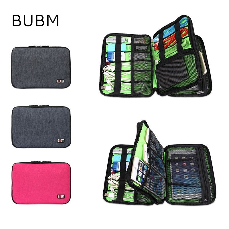 2017 New Brand BUBM Storage Bag For Ipad mini 7.9 inch, Sleeve Case For 7 inch Tablet, Multifunction Pouch, Free Drop Shipping bubm professional dj bag for pioneer