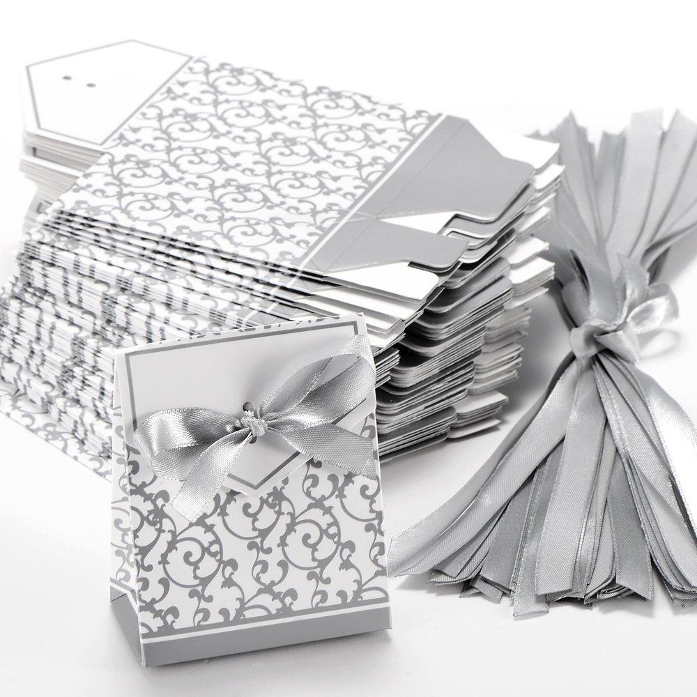 arrive 50x boite a dragee accessoire mariage decor - Accessoir Mariage