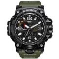 Moda Hombres Del Reloj Del Deporte 2017 Reloj Masculino de Lujo LED Digital cuarzo Militar reloj de Pulsera Relojes de Los Hombres de G S Choque Reloj Relogio Masculino