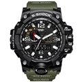 Moda Homens Relógio Do Esporte 2017 Relógio Masculino De Luxo LEVOU Digitais Quartz Militar Relógios de Pulso dos homens G S Choque Relógio Relogio Masculino