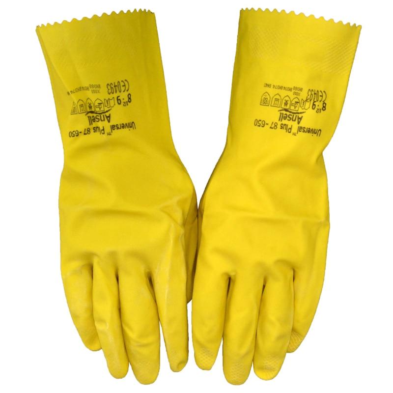 Darmowa wysyłka 3 pary długości 30,5 cm żółta rękawica - Zestawy narzędzi - Zdjęcie 5