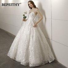 Новое поступление милое бальное свадебное платье Vestido De Novia кружевные винтажные Простые Свадебные платья горячая распродажа