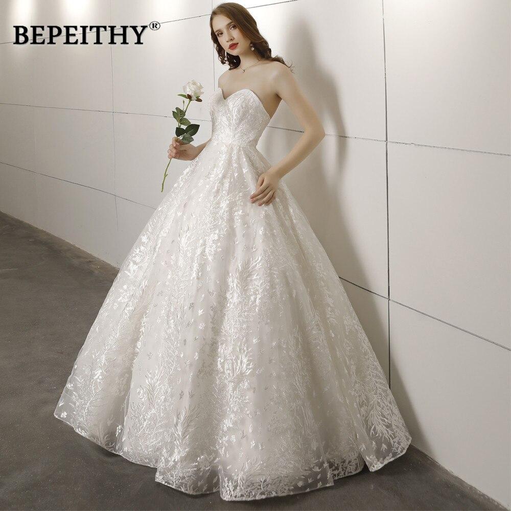 Vintage Wedding Dresses 2019: New Arrival Sweetheart Ball Gown Wedding Dress Vestido De