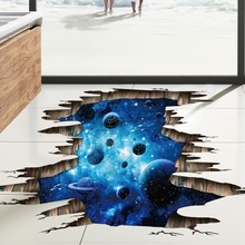 Space Galaxy Planets Universe 3D Wall Mural Photo Wallpaper Sticker New