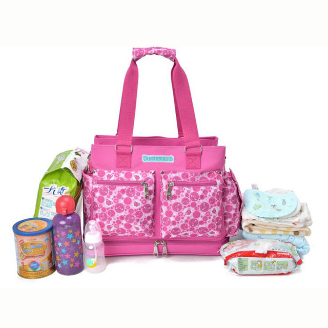 New Design Baby Diaper Bags Tote Bag For Mom And Travel Ny Handbags Bebe Organizer
