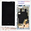 Em estoque!! 100% original lcd screen display toque digitador assembléia com quadro para nokia lumia 1020 lcd teste ok + número de rastreamento
