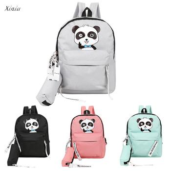 Adult Backpack Teenage Girls Bogs School Backpack  Cartoon Students Bags High Quality Youth Backpacks for Teenage Girls Female remote control charging helicopter