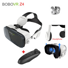 Xiaozhai BOBOVR Z4 3D VRแว่นตาชุดหูฟังเสมือนจริงกระดาษแข็งสำหรับip honeซัมซุง4.7-6นิ้ว+บลูทูธระยะไกลควบคุม