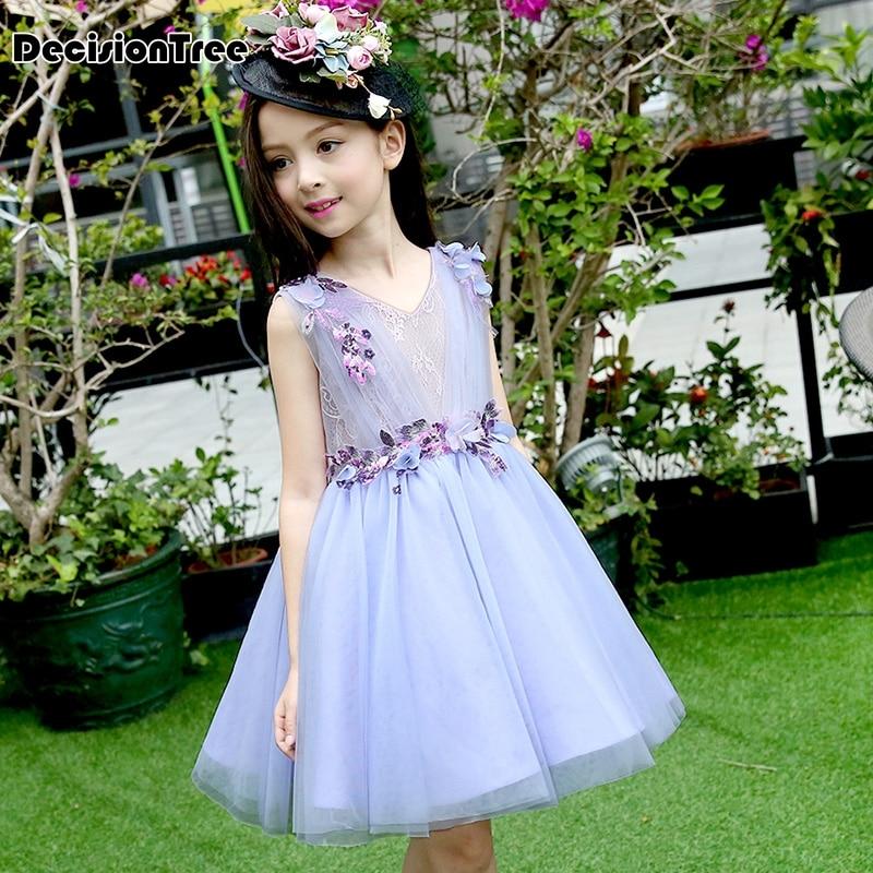 2019 new princess moana tutu dress for girls birthday party dress up children lace tulle flower girl dress kids halloween