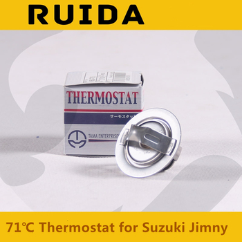Thermostat 71 degrees Celsius Radiator Inner water tank for Suzuki Jimny Water temperature control