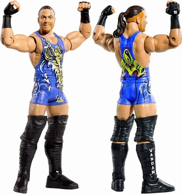 Wrestling Wrestler Rob Van Dam Action Figure Toy Doll Brinquedos Figurals Model Gift