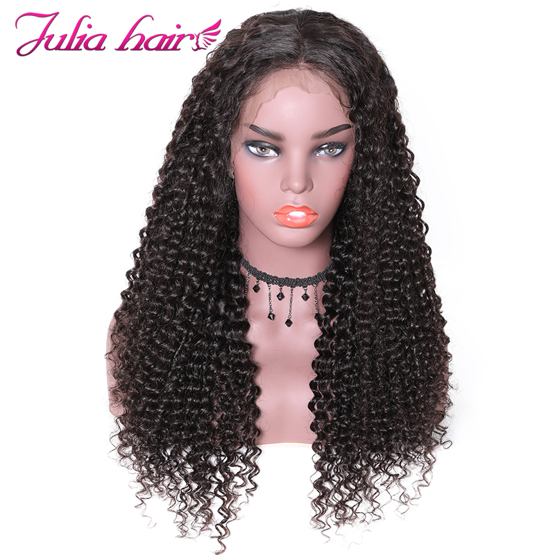 Ali Julia Hair 13 4 Inch Brazilian Remy Human Hair Wigs Curly Hair Lace Front Wig
