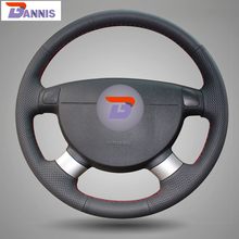 Artificial Leather Steering Wheel Cover for Chevrolet Aveo Lova Buick Excelle Daewoo Gentra 2013 15 Chevrolet