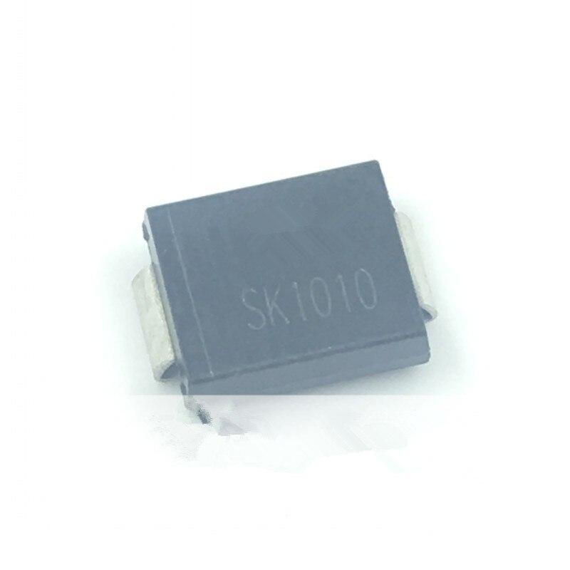 50 шт./лот SK1010 10A/100V SMC DO-214AB в наличии лучшего качества
