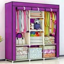 Muebles armadio set di mobili per camera da letto armadio armadio mobili per camera da letto armadi armadio ripiano armadio portatile guarda