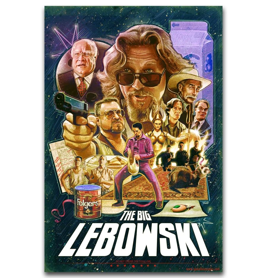 MQ2411 The Big Lebowski Classic Movie Vintage Film Hot New