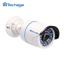 Techage FULL HD 720P 960P 1080P Security CCTV IP Camera Outdoor IP66 Waterproof 2.0MP P2P Onvif Surveillance Camera Night View