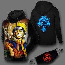 Naruto Uzumaki Sweatshirt Hoodies with mask (17 styles)