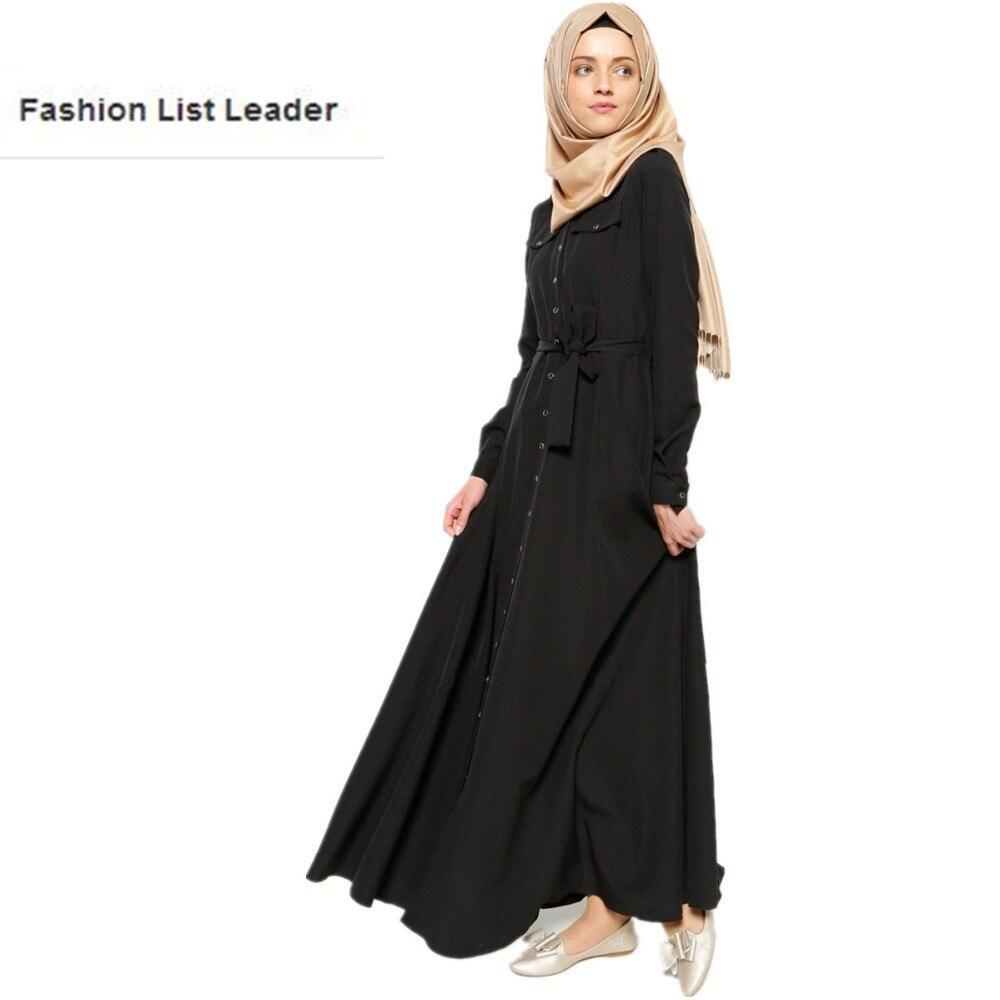 XL 7XL Plus Size Adult Casual Singel breasted Robe Musulmane Turkish Abaya New Muslim linen Robes