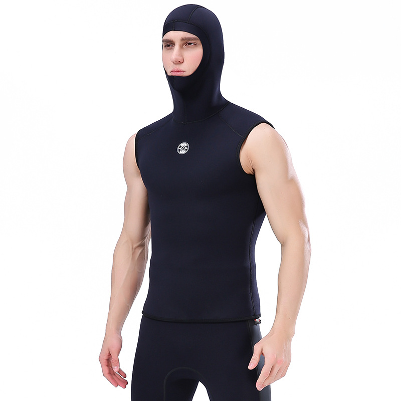 Slinx 3MM neoprene men s Hooded vest wetsuit scuba diving skin diving
