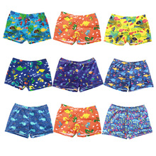 2-8 Years Kids Boys Shorts Swimwears Childrens Beach Pants Baby Summer Clothes Cartoon Print Swimming Trunks Boy