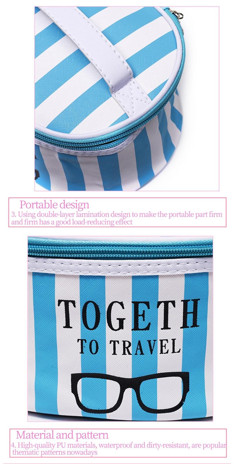 Circular-pink-stripes-Cosmetics-bag-Storage-bag-Portable-female-Beauty-Bag-PU-leather-Makeup-Bags-waterproof-toilet-organizer-2_03