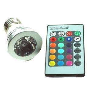 new arrival  3W E27 Remote Control LED Bulb Light 12 Color Changing
