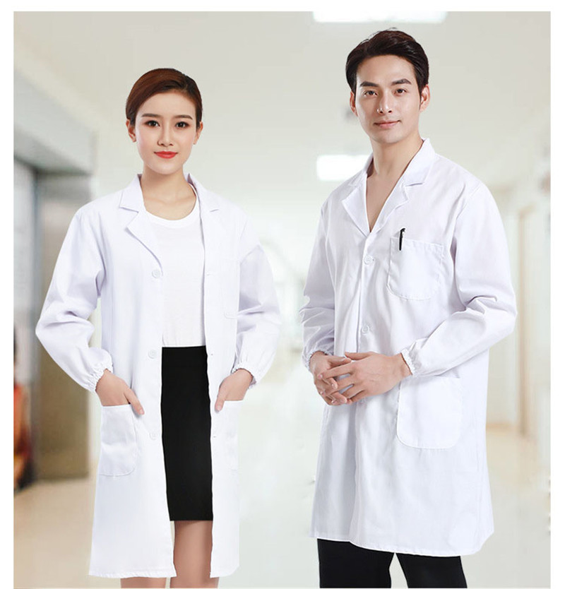 High Quality Short&Long Sleeve Uniform For Nurse Doctor Hospital Men Women Gown Medical Costumes Clinic Laboratory Free Shipping