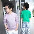 Boys clothes spring autumn fashion kids clothes shirts girl boy`s t shirt letter print long sleeve t-shirt baby boys clothes