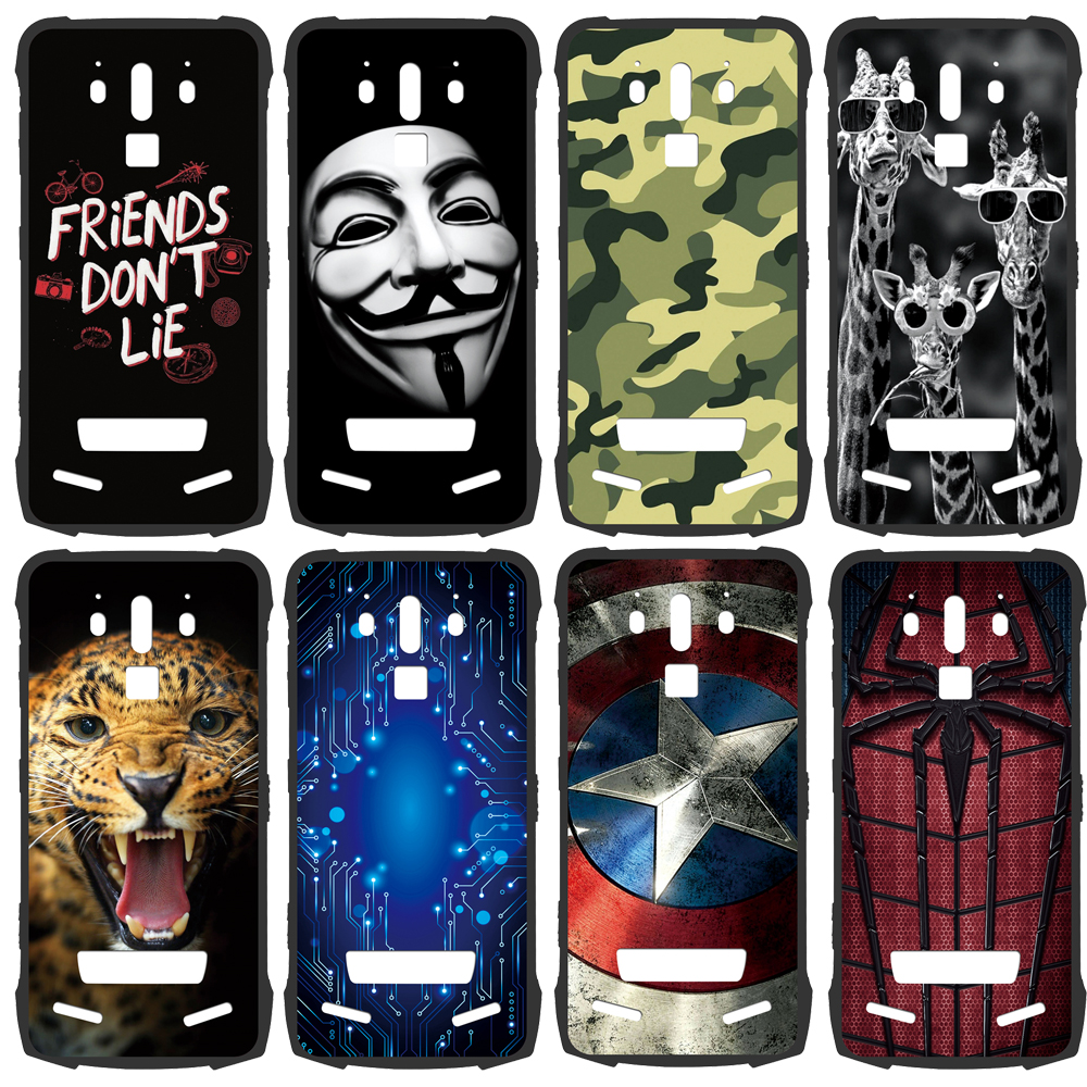 GUCOON Silicone Cover for Doogee S90 Case Soft TPU Rubber Protective Phone Back Case for Doogee S90 6.18inch Shell(China)