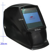 En iyi Fiyat 4 Ark Sensörü Büyük Sreen Güneş LI Pil Otomatik kararan TIG MIG MAG MMA Elektrik Kaynak Maskesi/kasklar/kaynakçı Kap