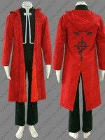 Anime Fullmetal Alchemist Edward Elric Cosplay Full Metal Alchemist Cosplay Costume