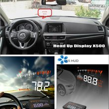 Liislee Car Information Projector Screen For Mazda CX-5 CX 5 CX5 2012~2015 - Safe Driving Windshield HUD Head Up Display liislee for mazda cx 5 cx 5 cx5 safe driving screen modified car hud head up display projector refkecting windshield
