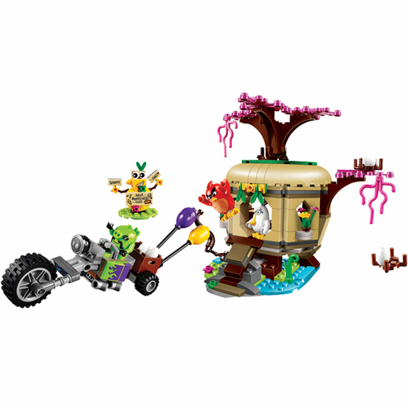 BELA Bird Island Egg Heist Building Birds Blocks Game Sets Bricks Classic Kids Model Toys Gifts For Children Compatible Legoings lagopus classic bricks blocks game stacked layers hard wood building intellectual wooden toys